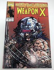 Marvel Comics Presents Weapon X  #79 Wolverine Comic Book
