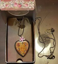 Michal Negrin Heart Pendant Necklace - FREE Shipping