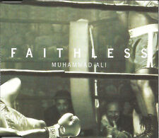 FAITHLESS Muhammad Ali 3TRX w/ EDIT & 2 RARE MIXES CD single SEALED USA seller
