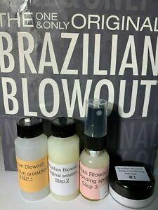 Brazilian Blowout 1oz kit includes .5oz bonding spray