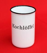 nostalgique kochlöffelhalter Cuillère de cuisine 51212 Blanc 11,5 cm émaillé