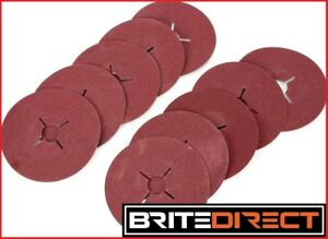"Fibre Sanding Disc 125 5"" Abrasive backing pad Grinding Disc Angle Pad for Fibre"