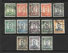 1937 King George VI SG40 to SG52 Complete Set of 13 Fine Used  SOUTHERN RHODESIA