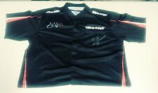 Courtney Force Autographed Signed Traxxas Race Used NHRA Crew Shirt John Force