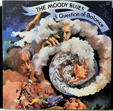 THE MOODY BLUES~A QUESTION OF BALANCE 1970 (U.S.REISSUE/NO GATEFOLD) LP
