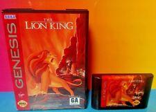 Disney The Lion King - Sega Genesis Rare Game Tested Box + Manual - Complete