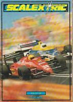 SCALEXTRIC ELECTRIC SLOT CAR RACING 30TH EDITION 1989 PRODUCT RANGE CATALOGUE