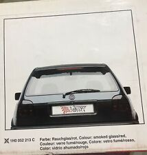 genuine Votex Smoked Heckblend for VW Golf 3 mk3 Golf III, Gti, magic colour.