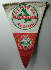 """British camping club Central counties Region  pennant 12"""""""