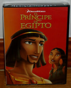 The Prince Of Egypt DVD New Sealed Animation (Sleeveless Open) R2
