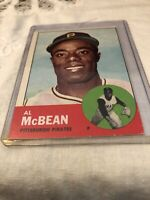 1963 Topps Baseball #387 Al McBean EX-NM