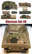 1/35 Scala kit in resina SHERMAN TANK ENGINE DECK e lo stivaggio Set # 8
