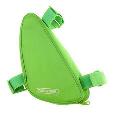 Satteltasche in Grün für Fahrräder