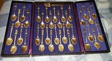 RARE Original William Rogers US President Commemorative Spoon Case Silver Plated