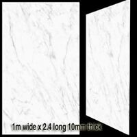 New Bathroom Shower Wall Panels Splash Panel Shower PVC 1m Wide 2.4m 10mm Thick