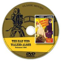 The Man Who Walked Alone 1945 Classic Movie DVD Dave O'Brien - Comedy, Drama