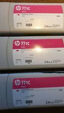 HP 771C Yellow Light Cyan Magenta matt Black Red Photo Black Z6200 Genuine New