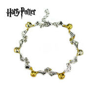 Harry Potter Golden Snitch (Themed Charms) Assorted Metal Charm Bracelet