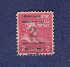 USED SCOTT #806 WITH NUMERAL (2) HANDSTAMP SOCKED ON NOSE (SON) CANCEL