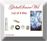 4 Kits Complete Service Kit forTire Pressure Monitoring System (TPMS)