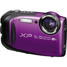 Fujifilm FinePix XP80 16.4MP Water Proof Digital Camera, WiFi, Purple
