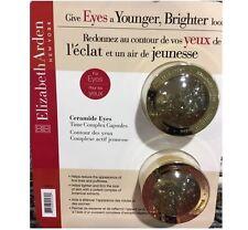 2x 60 = 120 Elizabeth Arden Ceramide Eyes Time Complex Capsules