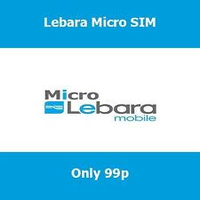 New Lebara Trio SIM Card For All Phones For Cheap UK & International Calls