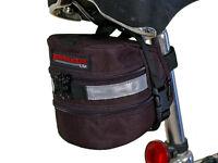 Bushwhacker Carson Black Under Seat Bike Bag Bicycle Cycling Wedge