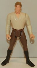 """1996 Han Solo in Brown Pants 4"""" Hasbro Kenner Action Figure Toy Star Wars"""