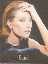 PUBLICITE ADVERTISING 2003 LUNA POMELLATO Bagues Colliers