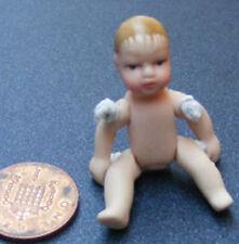 1:12 Scale Tumdee Dolls House Miniature Undressed Porcelain Baby Nursery DP155