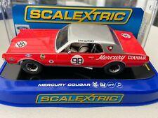 SCALEXTRIC C3418 MERCURY COUGAR 1967 TRANS AM DAN GURNEY SAMPLE NEW BOXED