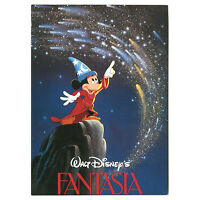 Disney Unused Postcard Sorcerer Mickey Fantasia 1988 Stamped Disneyland Nov 18th