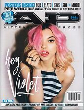 Alternative Press March 2017 Issue 344.2 Hey Violet Panic At The Disco Attila