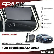 CT MAGNETIC CAR WINDOW SUN SHADE BLIND MESH REAR DOOR FOR Mitsubishi ASX 2012+