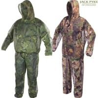 JACK PYKE LIGHTWEIGHT MESH SUIT MENS CONCEALMENT SMOCK & TROUSERS HUNTING