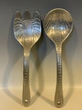 Elephant Form Theme Salad Utensil Spoon And Fork