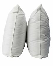 Luxury 100% Egyptian Cotton Pillow Pair Hotel Quality Hypoallergenic Pillows New