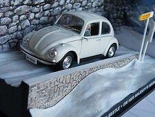 JAMES BOND VOLKSWAGEN BEETLE MODEL CAR OHMSS WHITE COLOUR 1/43 EXAMPLE T3412Z(=)
