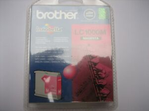 Original Brother LC1000M Magenta For MFC-5860CN Fax-1355 DCP-70CW Boxed