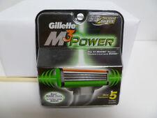 GILLETTE M3 POWER, 5 CARTRIDGES