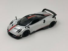"""New Kinsmart 5"""" Pagani Huayra BC Livery Edition Diecast Model Toy Car 1:38 White"""