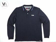 SLAM Herren Poloshirt Pedaso Segel Sport Longsleeve Baumwolle navy XXL