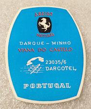 Vintage Old Rare ✱ POSTILHÃO / PORTUGAL ✱ Hotel luggage label Kofferaufkleber