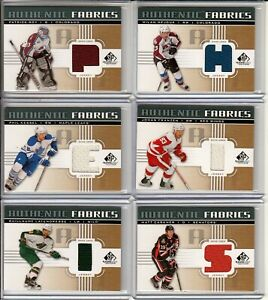 2011-12 SP Game Used Authentic Fabrics Gold #AFPR2 Patrick Roy *P*