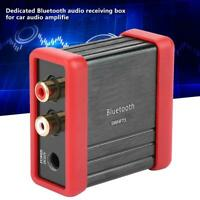 DC 12V HF73Wireless Bluetooth Audio Receiver Box RCA for Car Audio Amplifier