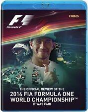 2014 Formula One - F1 World Championship Review Blu-ray DVD 2-Disc Set Brand New