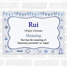 Rui Name Meaning Nautical Certificate