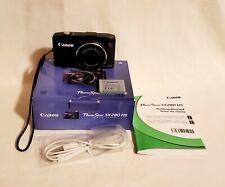 Canon PowerShot SX280 HS 12.1MP Digital Camera - Black – No Charger