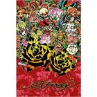 Ed Hardy Black Rose (Death of Love) 36x24 Tattoo Art Print Poster Roses